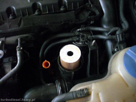 Nowy wkład filtra oleju