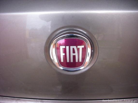 Emblemat Fiat Bravo po naprawie