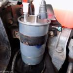 Filtra paliwa w Bravo II JTD