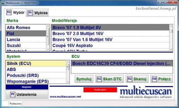 Multiecuscan Fiat Bravo